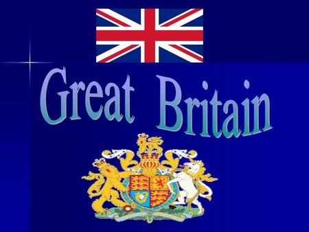1. The United Kingdom of Great Britain and Northern Island is situated on the British lays not far from Europe. It consists of the island of Great.