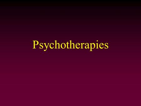 use of psychoanalysis to treat psychological Applied psychology opus home  like any treatment besides psychoanalysis, if a client has a co-occurring mental illness, it may be impossible to engage them in et .