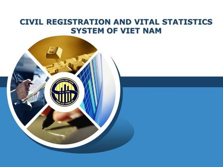 LOGO CIVIL REGISTRATION AND VITAL STATISTICS SYSTEM OF VIET NAM.