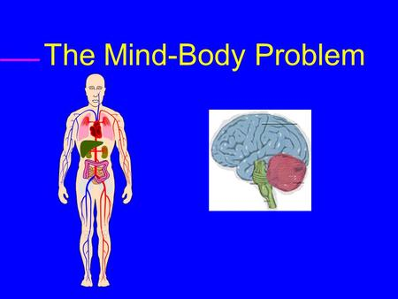 The Mind-Body Problem. Monism  Materialism : Everything is Physical  Idealism : Everything is Mental.