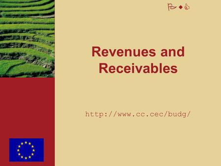 PwC Revenues and Receivables