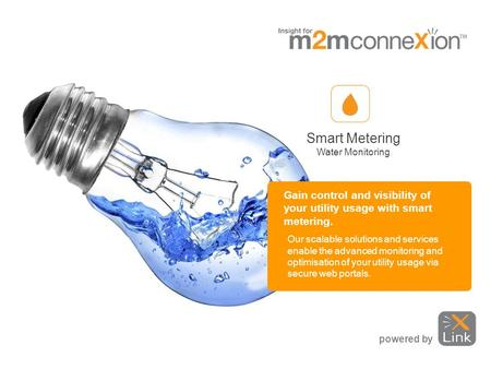 Gain control and visibility of your utility usage with smart metering. Our scalable solutions and services enable the advanced monitoring and optimisation.
