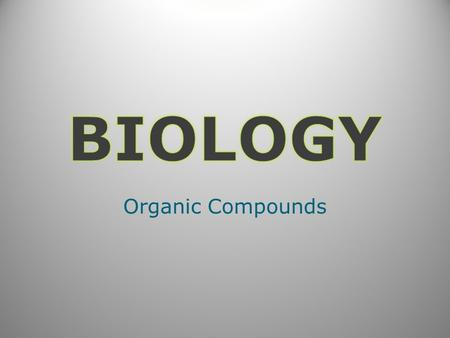 Organic Compounds. A) Organic Compounds Also known as biomolecules Most made of monomers bonded together to form a polymer – Dehydration synthesis / Biosynthesis.