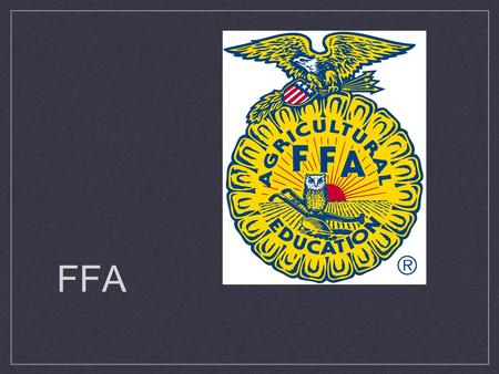 FFA. Mission FFA makes a positive difference in the lives of students by developing their potential for premier leadership, personal growth and career.
