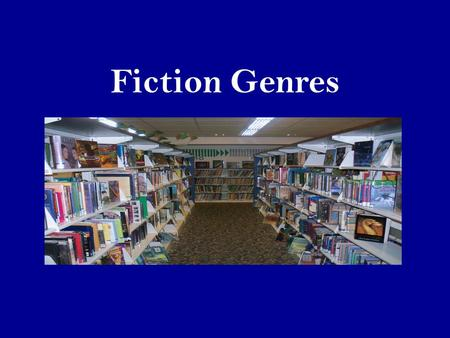 Fiction Genres. What is a genre? A genre is a kind of literature. Genre is a French word meaning kind, as in what kind of story.