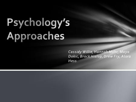 psychology and its roots What is psychology • chapter 1 5 psychology's roots because psychology is such a young science, we don't have to look that far back to examine its roots.