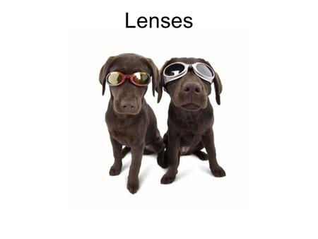 Lenses. Applications of Light Refraction What are some common applications of the refraction of light? Cameras Microscopes Lenses Eyeglasses Human eye.