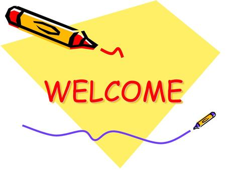 WELCOMEWELCOME BACK TO SCHOOL NIGHT August 7, 2014.