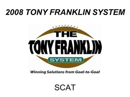 "2008 TONY FRANKLIN SYSTEM SCAT. ACE ""SCAT RT F SWEED"" X F H Q Z Y 5 1 0 1 5 2 0 3 1 5 1 0 5 1 2 4 PRE."