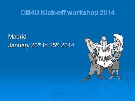 Madrid January 20 th to 25 th 2014. Financial Handbook  Direct, indirect, and other costs  All direct costs/expenses must be justified, documented and.