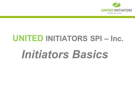 Initiators Basics UNITED INITIATORS SPI – Inc.. FACTORS EFFECTING RESIN AND GEL COAT CURE. % INITIATOR LEVEL % PROMOTER LEVEL MOULD TEMPERATURE AND AMBIENT.