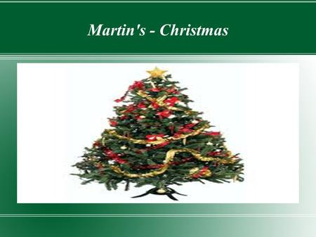 Martin's - Christmas. The History of Christmas Lights The tradition of using small candles to light up the Christmas tree dates back to at least the middle.