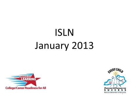 ISLN January 2013 1. Domain 1: Planning & Preparation Domain 2: Classroom Environment Domain 3: Instruction Domain 4: Professional Responsibilities Domain.