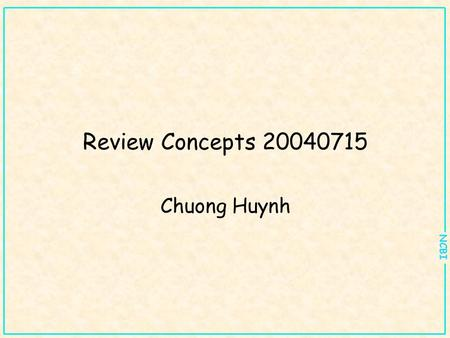 NCBI Review Concepts 20040715 Chuong Huynh. NCBI Pairwise Sequence Alignments Purpose: identification of sequences with significant similarity to (a)
