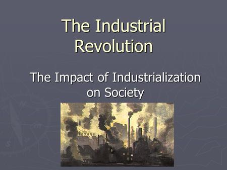 the industrial revolution essay introduction