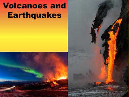 Volcanoes and Earthquakes. DAY 1 Objective: Objective: – I can explain how a volcano is structured.