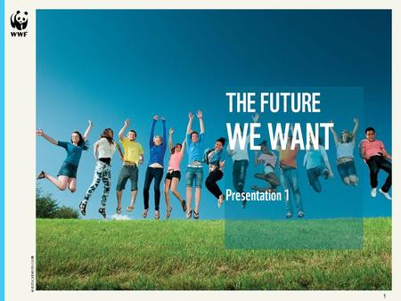 11 © ISTOCKPHOTO.COM THE FUTURE WE WANT Presentation 1.