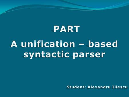 "What it's ? ""parsing"" Parsing or syntactic analysis is the process of analysing a string of symbols, either in natural language or in computer languages,"