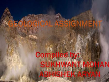 CONTENT SL.N O NAME OF CHAPTERS 1. Geological work by river 2. Introduction of streams 3. TYPES OF STREAMS 4.Drainage system 5. Types of drainage system.