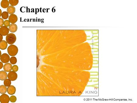 Chapter 6 Learning.