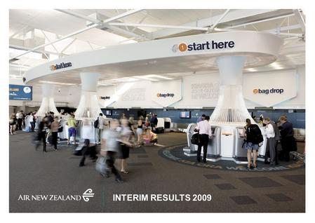 INTERIM RESULTS 2009. » 2 AGENDA Overview & Operating Environment Performance – Long Haul Airline – Short Haul Airline Domestic Tasman & Pacific Islands.