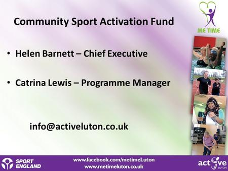 Community Sport Activation Fund