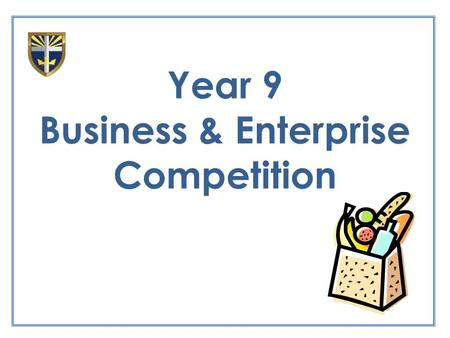 Year 9 Business & Enterprise Competition. Lesson Aims: Collate and process data from your questionnaire Present information in a suitable format Draw.
