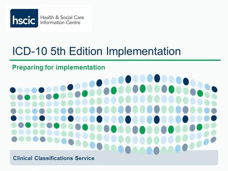 ICD-10 5th Edition Implementation