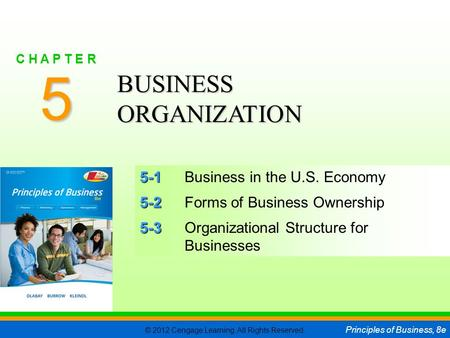 5 BUSINESS ORGANIZATION 5-1 Business in the U.S. Economy