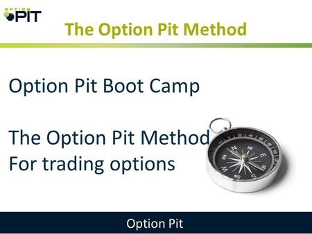 Options trading pit service