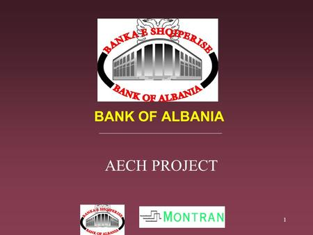 1 BANK OF ALBANIA AECH PROJECT. 2 Introduction What is AECH? ACH System Components AECH Project Implementation Plan AECH Activities & Responsibilities.