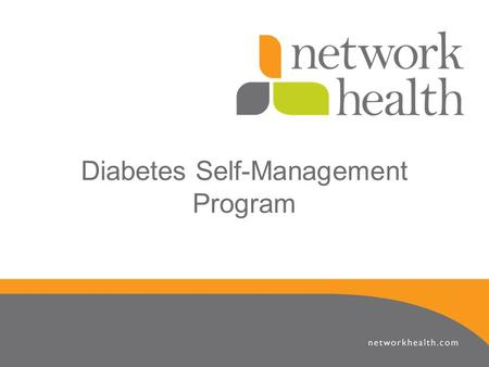Diabetes Self-Management Program. Program Master Trainers Jan Cobia, RN BSN Population Health & Disease Management Coordinator Sarah Krause, RN BSN Population.