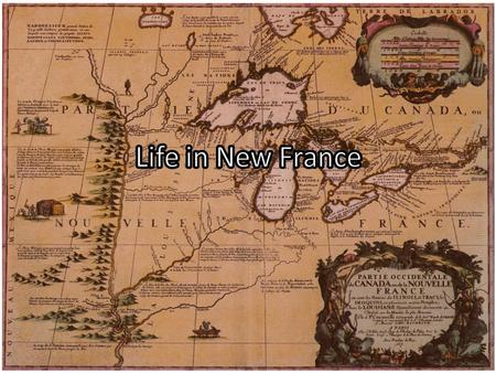 What was New France? New France was the area colonized by France in North America. It started in 1534, with Jaques Cartier's exploration of the St. Lawrence.