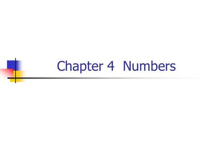 Chapter 4 Numbers. Python Program Structure Python programs consist of: Modules Statements Expressions Objects.