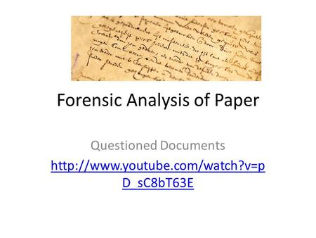 Forensic Analysis of Paper Questioned Documents  D_sC8bT63E.