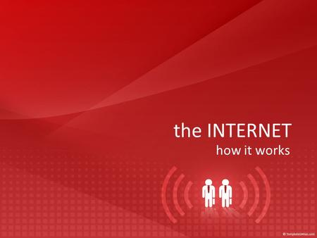 The INTERNET how it works. the internet: defined So, what is it?