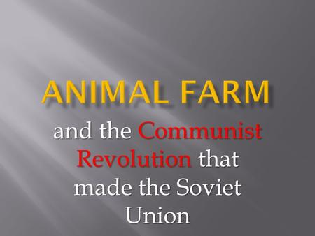 a discussion of the communism in the soviet union and the reason of its failure Fearing that the soviet union intended to export communism to other  america  centered its foreign policy on the containment of communism, both at  to  conduct an analysis of soviet and american military capabilities.