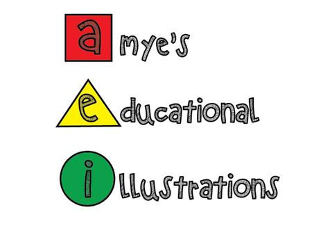 What is 'Amye's Educational Illustrations?' Educational posters for children in the early years of learning Helps them to recognise animals/numbers/alphabet.