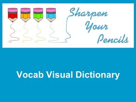 Vocab Visual Dictionary