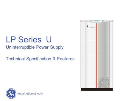 LP Series U Uninterruptible Power Supply Technical Specification & Features.