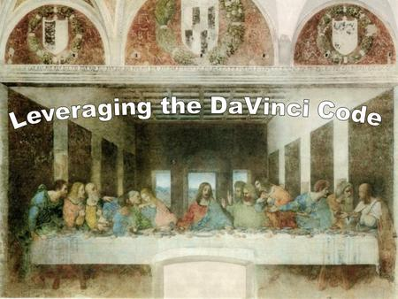Breaking the DaVinci Code. Da Vinci Code Questions 1. Was Jesus married to Mary Magdalene? 2. Did Jesus and Mary M have children? 3. Is Mary the 'holy.