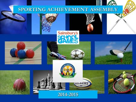 SPORTING ACHIEVEMENT ASSEMBLY 2014-2015. AfPE QUALITY MARK AWARD Every school is expected to deliver high quality PE but Quality Mark schools go way beyond.