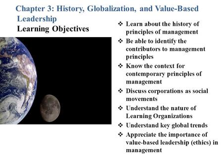 Learn about the history of principles of management