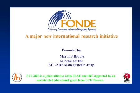 FONDE : A major new international research initiative (Marseille)