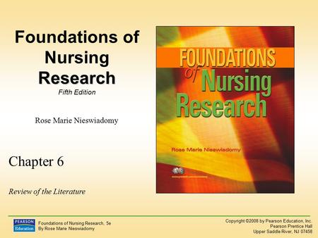 foundation of nursing education