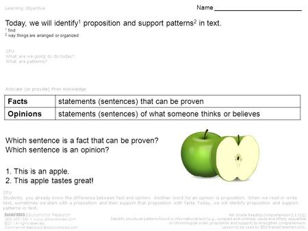 DataWORKS Educational Research (800) 495-1550  ©2011 All rights reserved. Comments? 4th Grade Reading Comprehension.