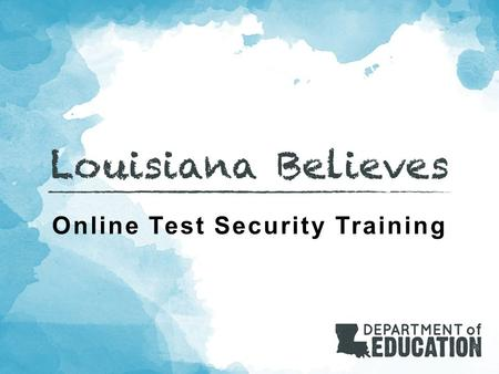Online Test Security Training. Agenda Welcome Communication and Support Policy and Key Terms Scheduling Monitoring Preventing Plagiarism Testing Students.