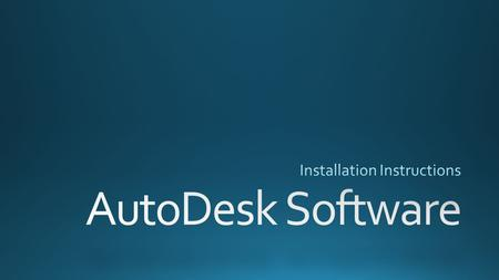 Use THIS LINK to get to AutoDesk's Educational webpage.THIS LINK.