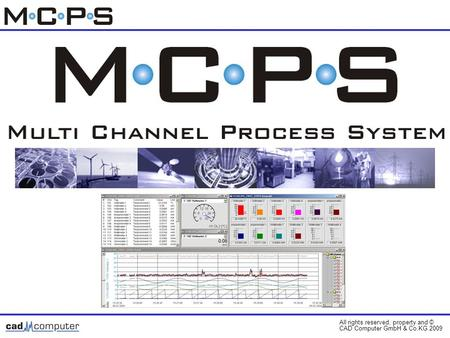 All rights reserved, property and © CAD Computer GmbH & Co.KG 2009 Cover page.
