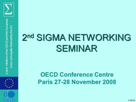 2nd SIGMA NETWORKING SEMINAR